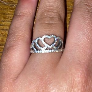 Pandora Hearts Tiara Ring